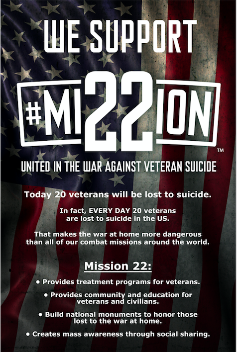 WI-MAFC East Supports Mission 22